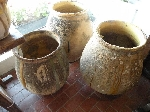 Large French Olive Jars