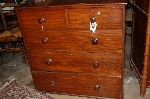 ENGLISH MAHOGANY CHEST