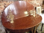 Demi Lune Mahogany Table