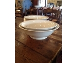 FRENCH IRONSTONE BOWLS